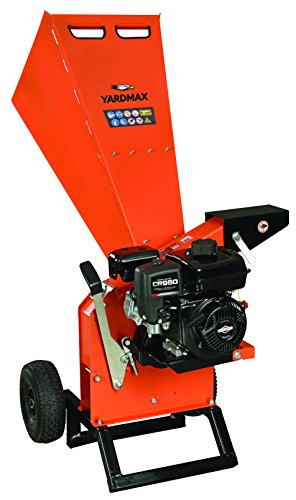 YARDMAX YW7565 Chipper Shredder, 3' Diameter, Briggs &...