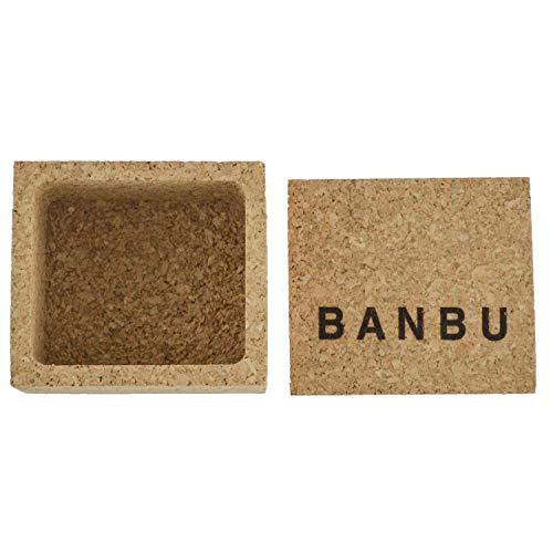 Jabonera Caja de Corcho para cosméticos Sólidos Banbu