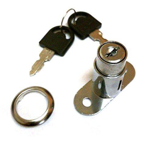 Druckschloss Druckzylinder für Schiebetür Vitrinenschrank Möbelschloss usw