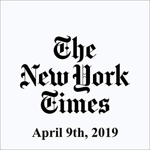 April 9, 2019 copertina