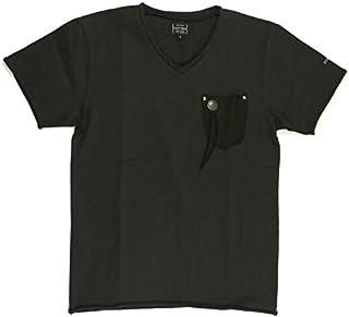(ショット) Schott レザー ポケット Tシャツ Vネック ポケットTシャツ カットソー メンズ レディース 3183002