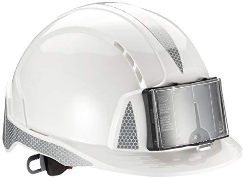 JSP AJF170-D00-100-AMZEvolite mit CR2und ID Badge Holder Helm, weiß