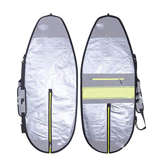 "NKJH Removedor de Cera para Tablas de Surf 4'6"", 5'2"", 135 cm, 160 Cm Cubierta Foilboard Wakesurf Bolso de la Hoja Kite Junta Foil Proteja Boardbag Peine de Cera para Tabla de Surf"