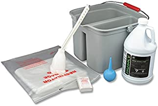 Allegro Industries 4002 Respirator Cleaning Kit with Liquid Cleaner, 1 gal, One Size