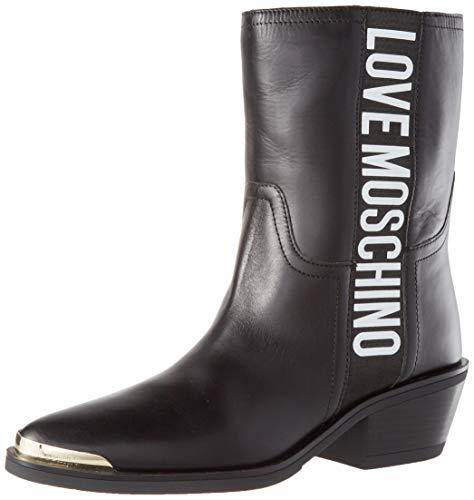 Love Moschino Ja21415g0bja0, Mid Calf Boot Femme Noir 41 EU