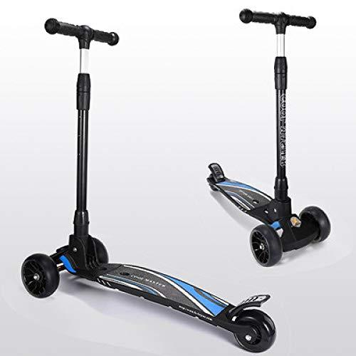 XINKANG Scooter Infantil Scooter para niños, niños Grandes 5-6-7-8-10-12-14 años, niños Grandes, tobogán Plegable de un pie para Mujeres