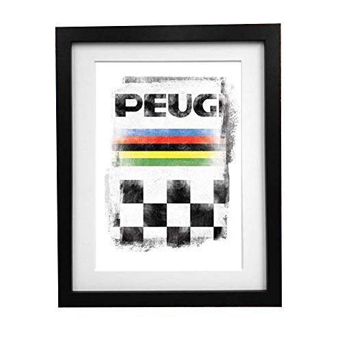 Summit Finish Retro Peugeot WK A3 Print