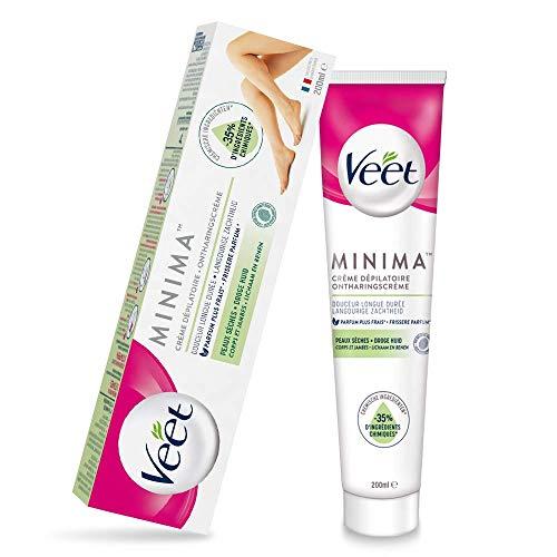 Veet Minima Crème Dépilatoire Peaux Sèches - Le tube de 200ml