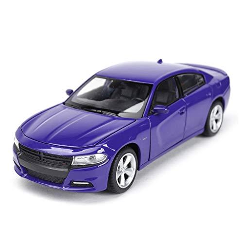 ZhuFengshop Auto Model Die-casting Voertuig 1:24 Schaal Dodge Oorlog Paard Model Auto, Simulator Auto Speelgoed Die-casting Speelgoed Ornamenten, 19.4x8.2x5.3CM Racing Auto