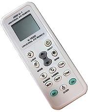 FYCJI Universal Mando Aire Acondicionado Control Remoto K1028E 1000 en 1 Mando Universal Aire Acondicionado Compatible con Varias Marcas- con Linterna LED con función de búsqueda automática