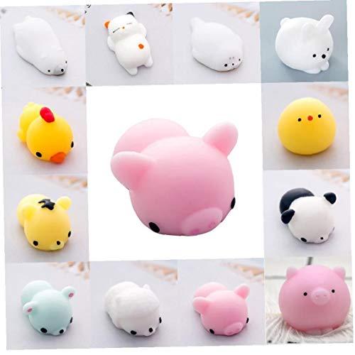 1 PC Mini Squishy Tier Squishies Partei-Bevorzugungen Kawaii Squishy Squeeze Spielzeug Eisbär Squishy Stress Relief Spielzeug - Schwein