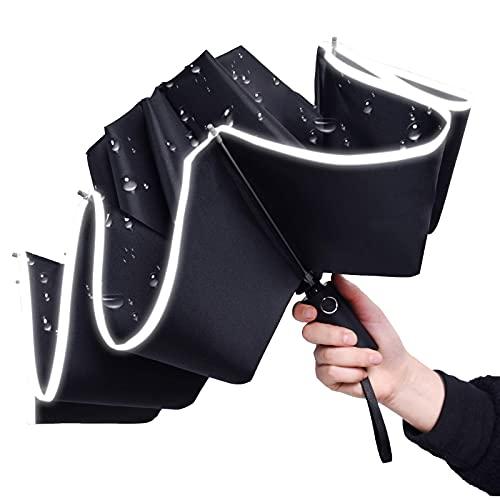 ARATOZZLE Windproof Reverse Umbrella Compact, upside down Inverted...