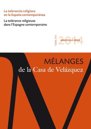 Mélanges de la Casa de Velázquez 44-1-2014.