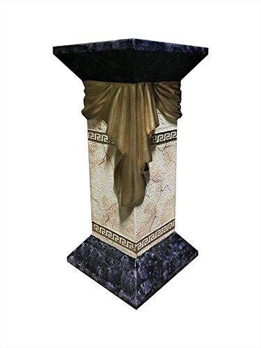 Antikes Wohndesign Blumensäule Blumenständer Marmor Säule Versa Serie Höhe: 65cm