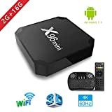Android TV Box, x96 Mini Smart TV Box avec Mini Clavier Android 7.1 Neueste Amlogic...