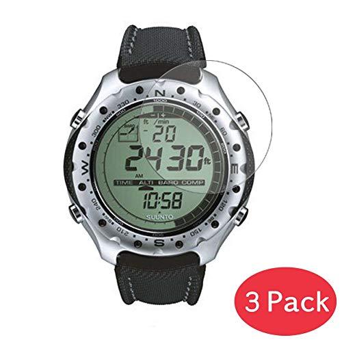 Vaxson 3 Stück 9H Panzerglasfolie für Suunto Men\'s X-Lander Military Panzerglas Schutzfolie Displayschutzfolie Bildschirmschutz Intelligente Uhr Armband Smartwatch