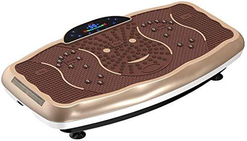 Oszillierende Vibrationsplatte Maschine, mit Fernbedienung Faul Schlankheits-Maschine, Whole Body Vibration Gewicht-Verlust-Maschine 99 Levels,B