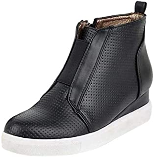 BeiaMina Women Casual Shoes Hidden Heel