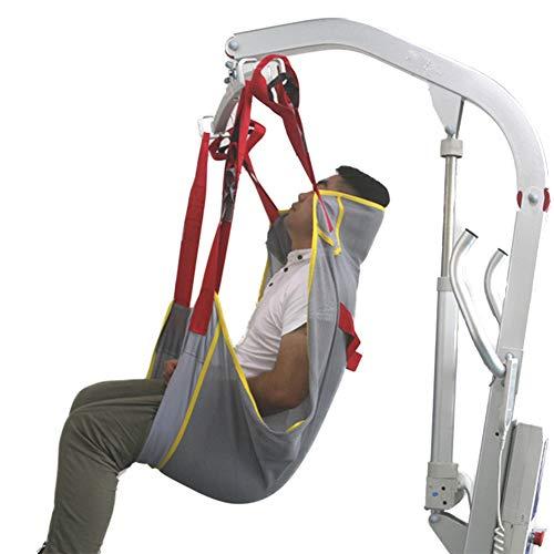 DXFK.AM Ganzkörper-Hebegurt, Hilfe Patient Übertragen, Strapazierfähiges Mesh-Tuch Beweglicher Gürtel des Patienten Medizinischer Aufzug Ausrüstung Handicap Transfer Belt,B