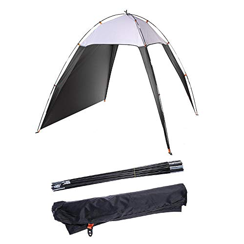 Beach Tent Large, Portable Automatic Instant Sun Shelter for 3-4 Person, Anti-UV 50+ Sun Shade for Outdoor Camping Beach Picnic