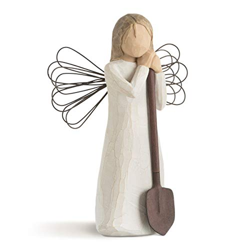 Willow Tree Angel of The Garden, Sculpted Hand-Painted Figure