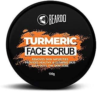 BEARDO Turmeric Face Scrub For Men, 100 g