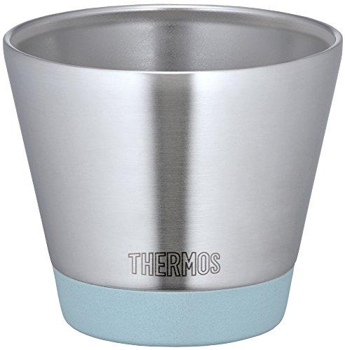 サーモス 真空断熱カップ 300ml ブルー JDD-300 BL