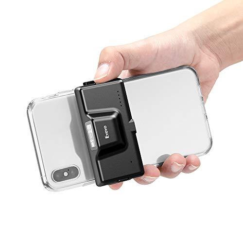 Eyoyo 2D Lecteur de Code à Barres Blue-Tooth Scanner de Téléphone à Clip Arrière sans Fil Réglable 1D CMOS QR PDF417 Code pour iPhone Android iOS