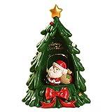 perfecthome Adorno navideño Figura Decorativa de Resina de Abeto de Mesa, para...