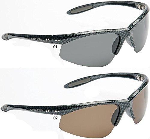 Eyelevel Occhiali da Sole POLARIZZATI Grayling - 01, Gris, Gris, 3