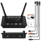 1mii Transmisor Receptor Bluetooth Audio, Bypass 3 en 1 con Óptico RCA Jack Aux, AptX de Baja Latencia &Hi-Fi, Emisor Bluetooth para TV/PC Doble Enlace a 2 Auriculares, Adaptador Bluetooth a Altavoz