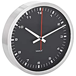 Blomus Wall Clock, Black, 24 Centimeters