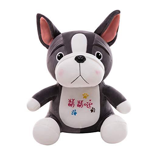 WPYLY Pug Peluche Feo Shar Pei muñeca Lindo Abrazo Almohada Cama Abrazo para Dormir 40 cm A