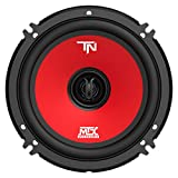 MTX Terminator6 45 Watt RMS 2 Way Polypropylene Coaxial Car Speakers, Pair