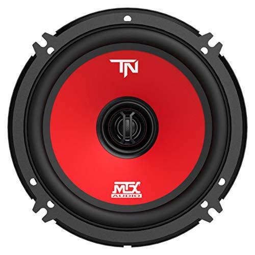 MTX Terminator6 45 Watt RMS 2 Way Polypropylene Coaxial Car Speakers, Pair