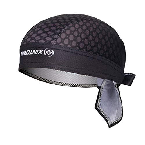 X-Labor Unisex Bandana Cap UV Schutz Kopftuch Bikertuch Sonnenhut Stirnband Fahrrad Erwachsene Radsport Motorrad Kopfbedeckung Motiv-E