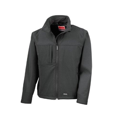 Result - Veste imperméable Coupe-Vent - Homme (XL) (Noir)