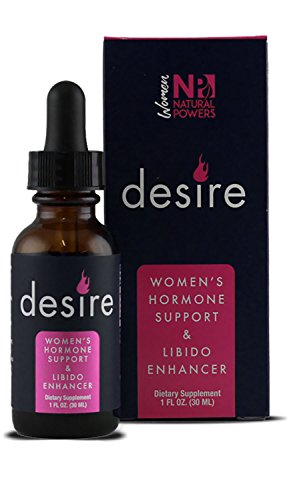 Desire | Women's Libido Enhancer | 100% Natural Supplement | Clinically Proven to Boost Sexual Drive, Increase Lubrication & Enhance Stimulation | Maca, Horny Goat Weed, Ashwagandha & More | 30-Day