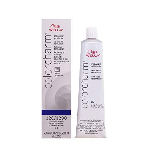 wella hair dyes WELLA Color Charm Permanent Gel Hair Color, 12C, 2 oz