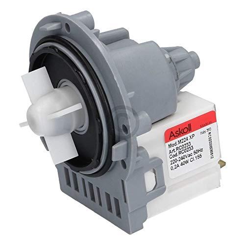 LUTH Premium Profi Parts universele afvoerpomp pomp wasmachine geschikt voor Indesit C00144997 pompmotor Askoll
