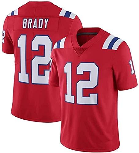 FFZH Equipos Populares Tom Brady Jersey Patriots # 12 Jersey de fútbol Americano Versión Bordada Versión para fanáticos Camiseta 2021 Salute Edición Limitada Jersey-L_B3