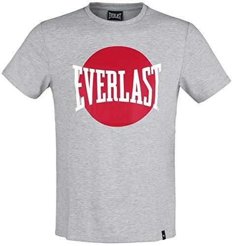 Everlast Graphic Hombre Camiseta Gris M, 70% Poliester, 30% algodón, Regular