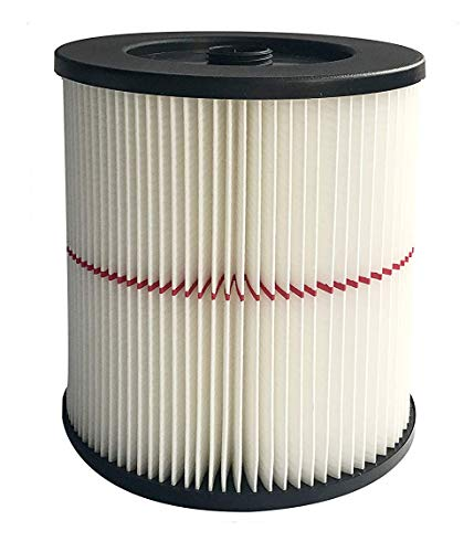 Nispira Replacement HEPA Filter Compatible with Craftsman Red Stripe Shop Vacuum Wet/Dry Vacs Vacuum. Compared to Part 17816 9-17816. 1 Filter