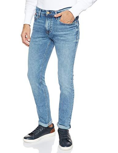 Tommy Hilfiger Hombre SCANTON HERITAGE DLSMD Straight Jeans, Azul (Dallas Mid Bl Com 911), W33/L34
