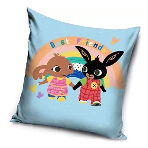 Le fantasie di casa Federa per Cuscino da Bambini 40 x 40 Bing Friends in Poliestere Originale Acamar.