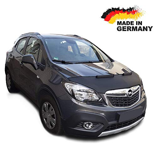 Black Bull Haubenbra für Opel Mokka Steinschlagschutz Motorhaubenschutz Automaske