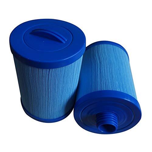 HLL Remplacement du Spa Filtre de Spa PP-002 Bleu antibactérien 200 Fois Cartouche pour Les Sources Chaudes de Watkins (2Pack)