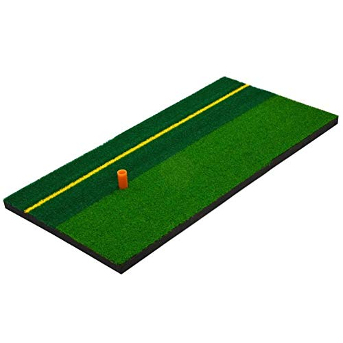 Check Out This YX Xuan Yuan Golf Strike pad Swing pad Two-Color Grass Putter line Indoor Personal Pr...