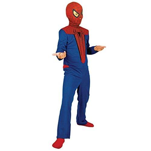 Cesar- Costume per Bambini, Rosso/Blu, 3-5 anni, E256-001