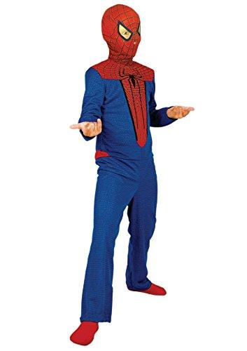 Cesar-E256.003 Spiderman Disfraz, color rojo/azul, 8-10 aos (Ciao Srl E256.003)
